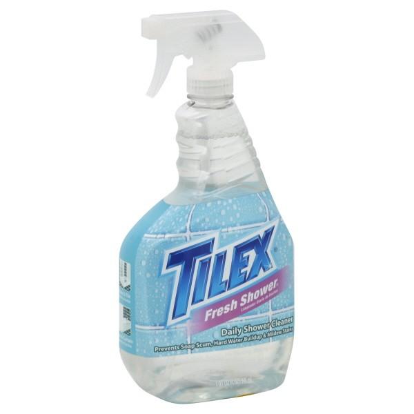 Tilex fresh shower daily shower cleaner original trigger spray for Tilex bathroom cleaner