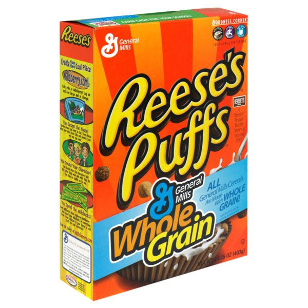 General Mills Reese's Cereal Peanut Butter Puffs