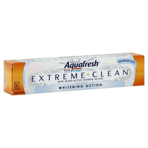 Aquafresh Extreme Clean Toothpaste Whitening