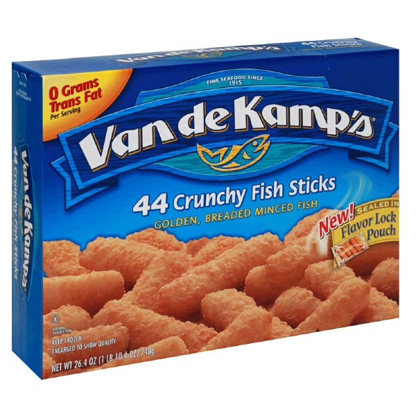 van de kamp 39 s fish sticks breaded 44 ct frozen