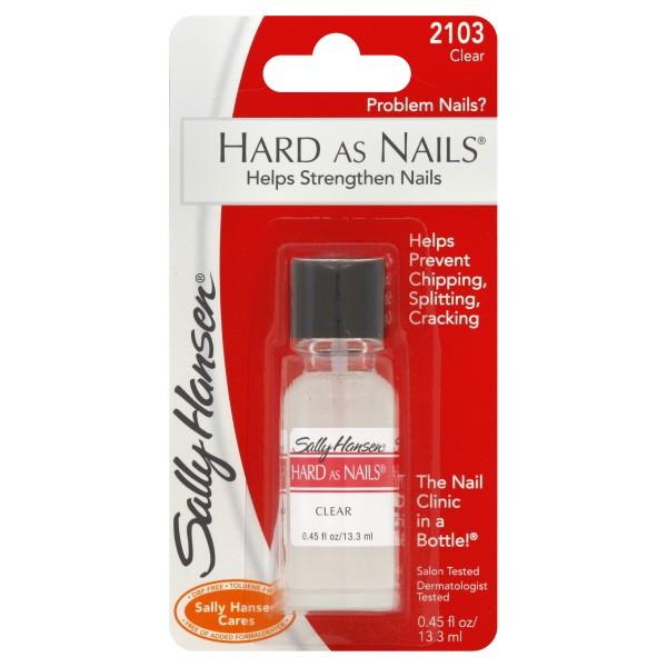 Hansen Hard As Nails Nail Polish Clear