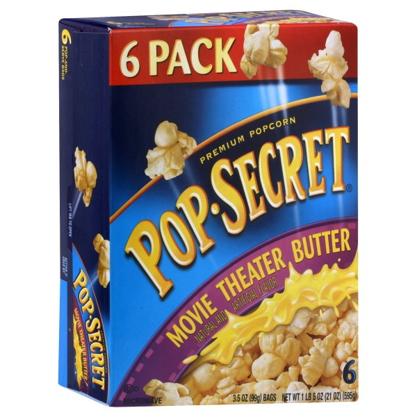 Pop Secret Microwave Popcorn Movie Theatre Er
