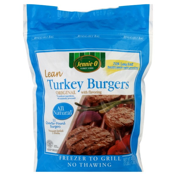 JENNIE-O® All Natural* Turkey Sausage makes breakfast a little more nutritious (low fat, calories per serving). Whether you're forming homemade patties, or crumbling and frying, ground turkey sausage is the versatile, lean, go-to you can never have enough of.