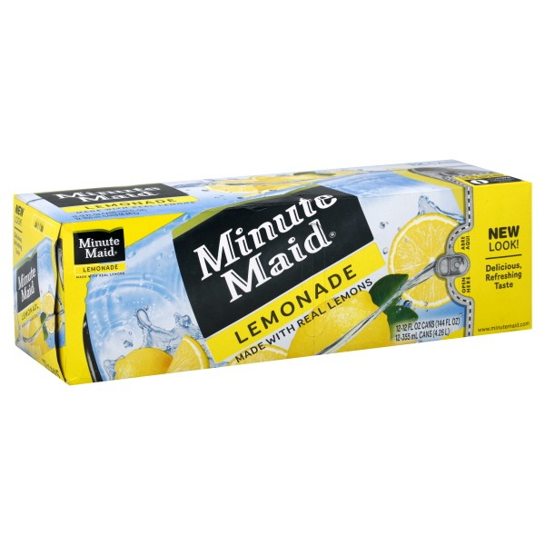 minute maid 12 pack