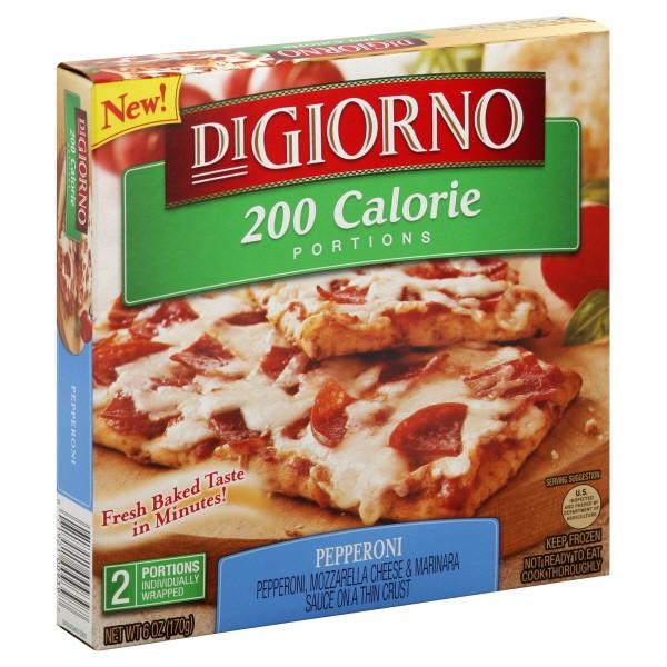 Digiorno 200 Calorie Portions Pizza Pepperoni Frozen 2 Ct