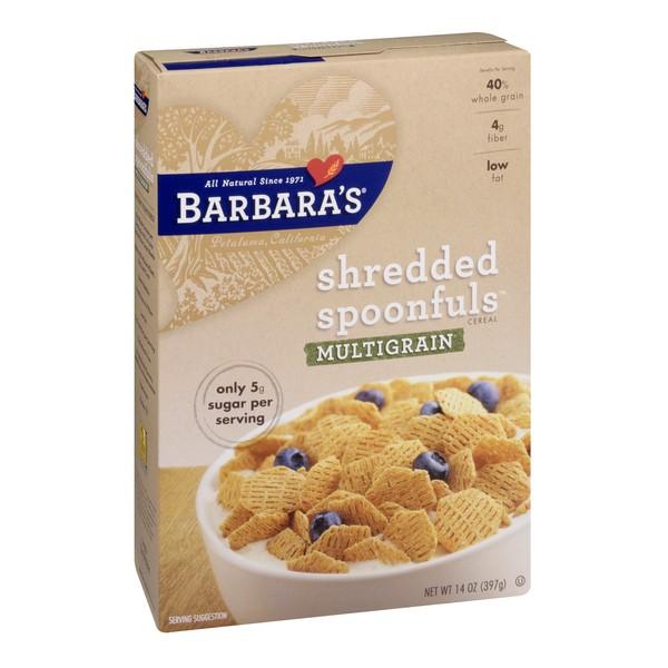 Barbara's Bakery Shredded Cereal Multigrain Spoonfuls 100