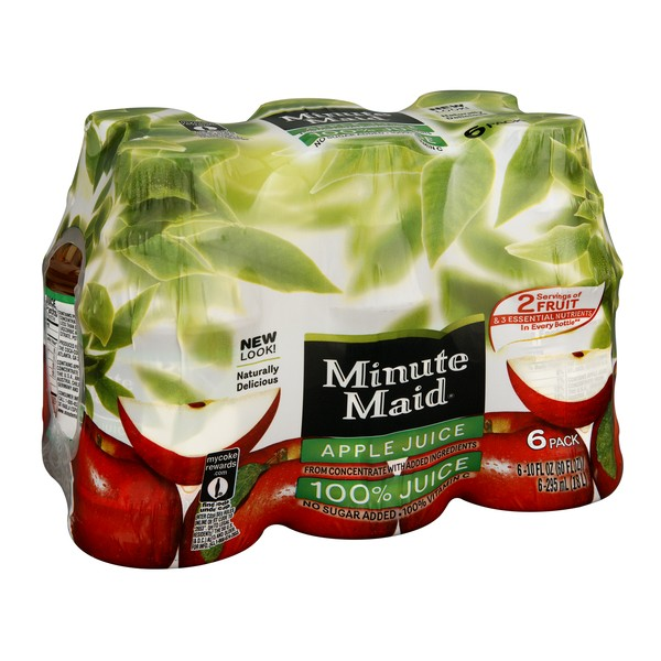 Minute Maid Juices To Go 100% Apple