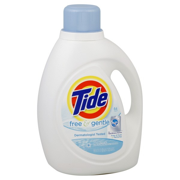 tide free u0026 gentle he liquid laundry detergent for high efficiency washers