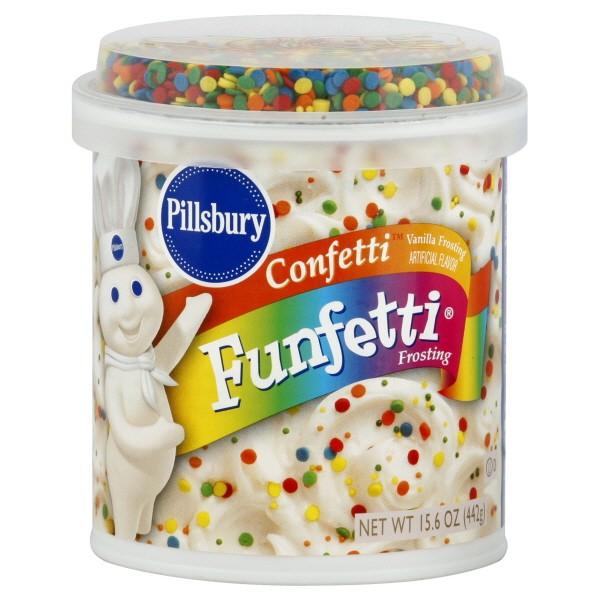 pillsbury funfetti frosting vanilla