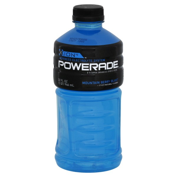 blue powerade nutrition facts