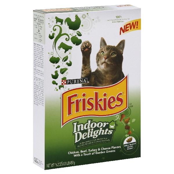 Friskies Indoor Dry Cat Food