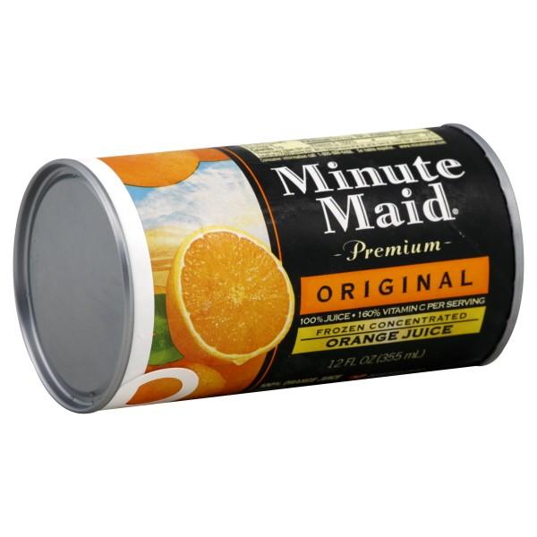 Minute Maid Premium 100% Orange Juice Original Frozen ...