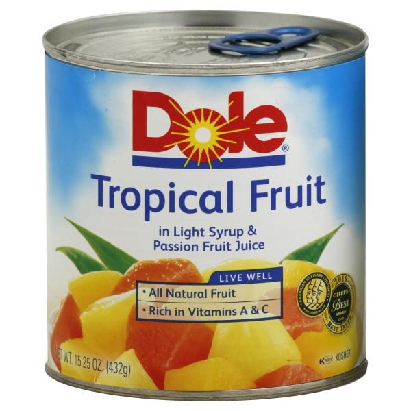 Dole Fruit Salad Tropical
