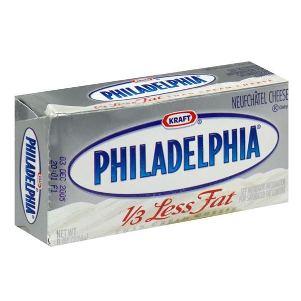 Kraft Philadelphia Neufchatel Cheese 1 3 Less Fat Brick