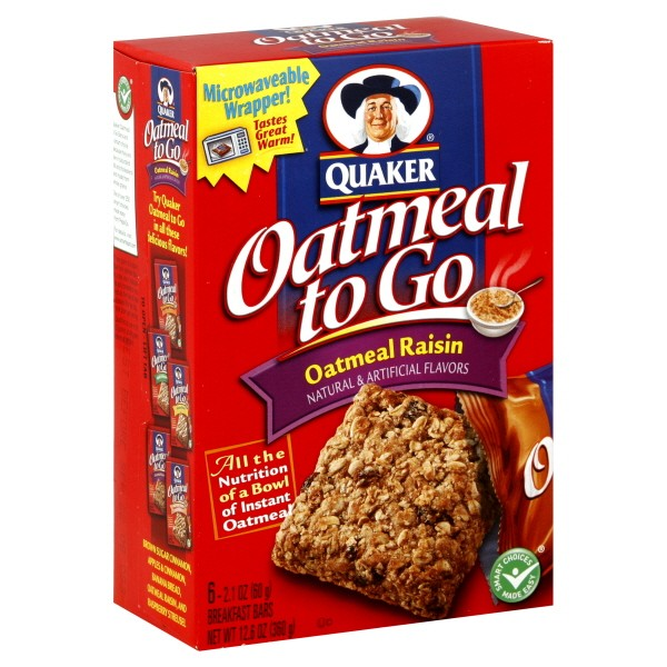 Oatmeal On-The-Go Bars Recipe — Dishmaps