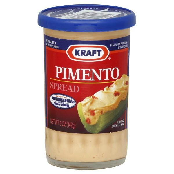Kraft Cheese Spread Pimento