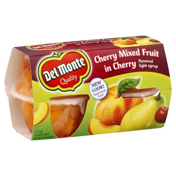 Del Monte Fruit Bowls Del Monte Fruit Bowls Mixed