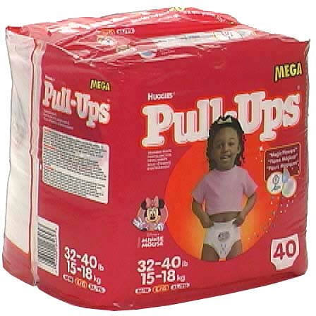 Pull Ups Girls huggies...