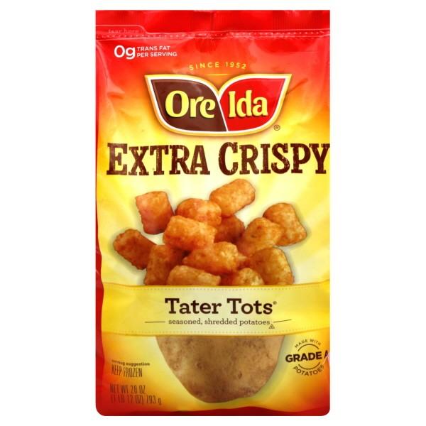Ore Ida Tater Tots Extra Crispy