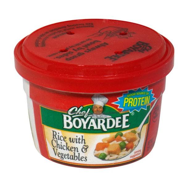 Chef Boyardee Microwave Rice With En Vegetables