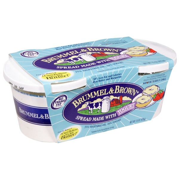 Brummel & Brown Spread with Yogurt - 2 ct