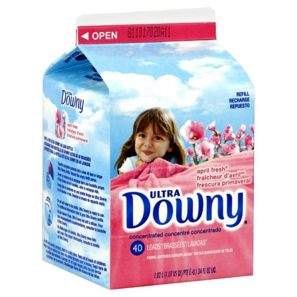 Downy Ultra Liquid Fabric Softener April Fresh Refill