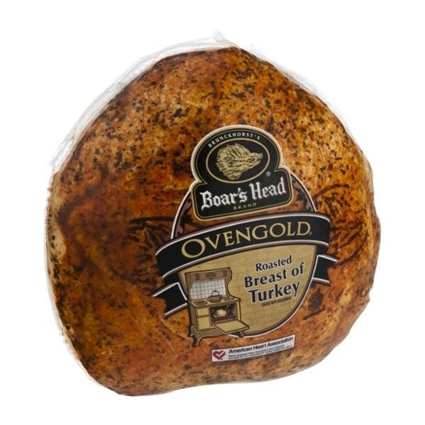 Boar's Head Deli Turkey Breast Ovengold