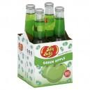 Jelly Belly Green Apple Gourmet Soda - 4 pk