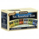 Bigelow Six Assorted Flavors Tea Bags