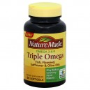 Nature Made Triple Omega Softgels