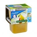 Gerber 2nd Foods SmartNourish DHA Pears Organic - 2 pk