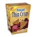 Nabisco Triscuit Thin Crisps Crackers Whole Grain Chile Pepper