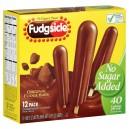 Fudgsicle Fudge Bars No Sugar Added - 12 ct