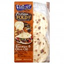 Flatout Artisan Fold It Flatbread Rosemary & Olive Oil - 5 ct