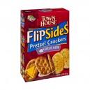 Keebler Town House Flip Sides Pretzel Crackers Garlic Herb