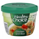 Healthy Choice Soup Bowl Chicken with Rice Microwaveable
