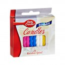 Betty Crocker Birthday Candles Rainbow Stripe Medium