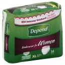 Depend Protective Underwear for Women Super Plus Absorbency X-Large