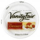 Vanity Fair Premium Plates Dessert 7 Inch