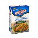 Swanson Natural Goodness Broth Chicken 100% Fat Free 33% Less Sodium