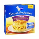 Pillsbury Grands! Biscuit Sandwiches Sausage, Egg & Cheese - 2 ct