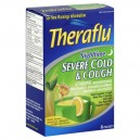 Theraflu Nighttime Severe Cold & Cough Natural Lemon Flavor