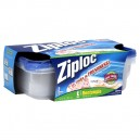 Ziploc Containers Rectangle Large with Lids 72 oz ea