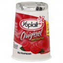 Yoplait Original Yogurt Raspberry 99% Fat Free