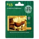 $15 Starbucks Gift Card