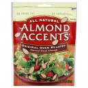 Almond Accents Flavored Sliced Almonds Original Oven Roasted All Natural