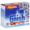 FINISH All In 1 Powerball Auto Dishwasher Detergent Tabs Fresh Scent