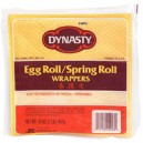 Dynasty Wrappers Egg Roll or Spring Roll Frozen