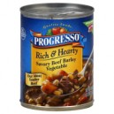 Progresso Rich & Hearty Soup Savory Beef Barley Vegetable
