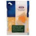Kraft Cheese Mexican Four Cheese Finely Shredded